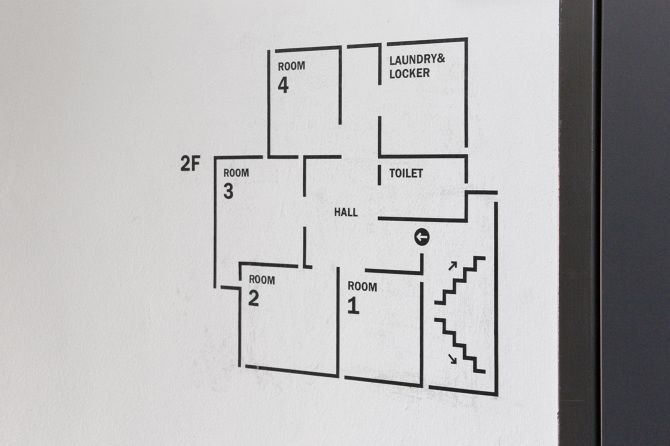 I love how clean and simple this is. If blown up bigger with added detail, I bet the 'wayfinding as art' aspects would appear.