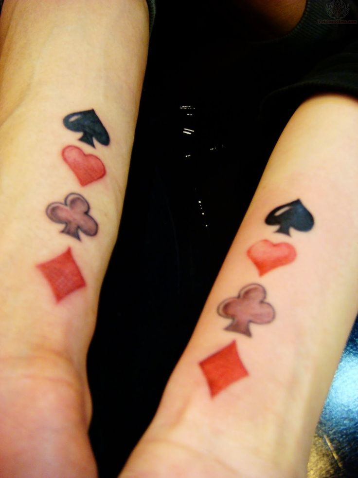 Poker Tattoo Images & Designs