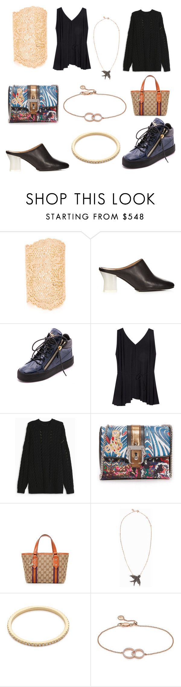 """New Discount sale is on..."" by cate-jennifer ❤ liked on Polyvore featuring Aurélie Bidermann, Giuseppe Zanotti, The Row, Alexander Wang, Paula Cademartori, MAHA LOZI, Gabriela Artigas, Monica Vinader and vintage"