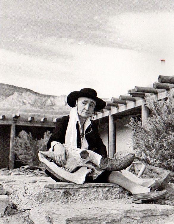 Georgia O'Keeffe, 1948.