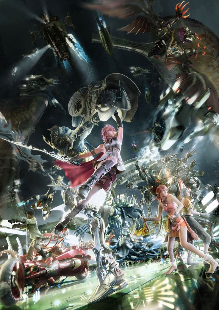 Final Fantasy XIII. Another game I have, but haven't played yet. Tut.