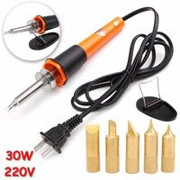 Home   Profesional Hobby Crafts Wood Burning Pen Kit Set Woodburning Soldering Iron pencil Welding Torch Set 7PCs