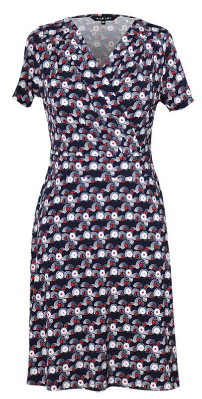 Ophelia jurk van Vila Joy, buy it Solvejg.nl