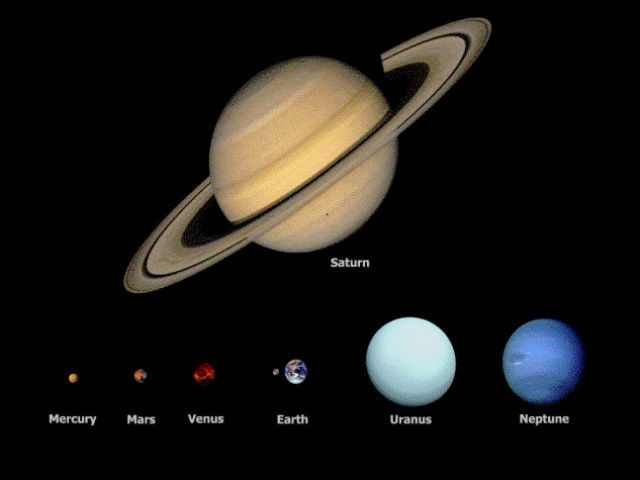 how big is venus compared to other planets - photo #29