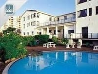 This stunning accommodation on Margates beach at suntide hotel. This resort boasts, 2 pools, trampolines putt putt jungle gyms and games rooms. The units are serviced daily and are fully equipped. The resort is walking distance from town you would never need to get your car out