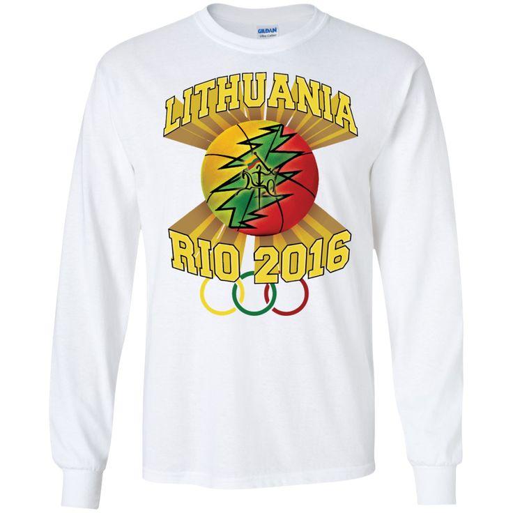 **Rio Olympic Basketball** -- Guys Long Sleeve