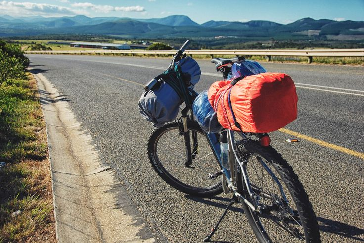Cycling in Eastern Cape.