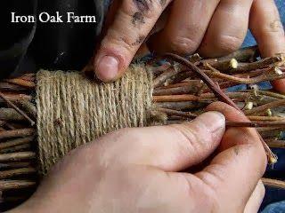 Iron Oak Farm: Making a Witch Broom