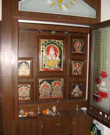 272 best Pooja Room Design images on Pinterest | Puja room, Indian ...