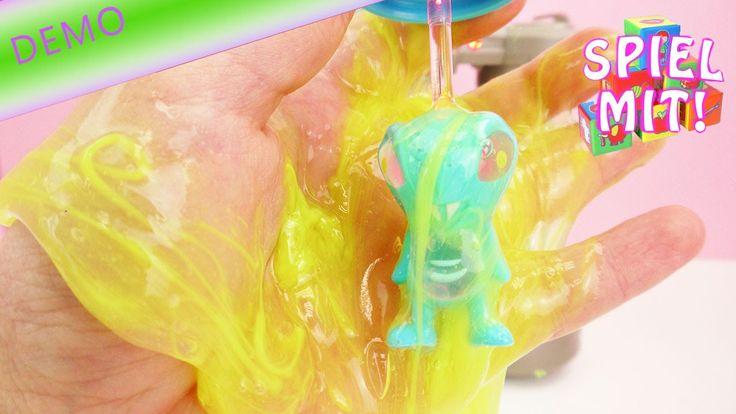 Alien wird im ekligen Glibber Schleim geboren Deutsch - Slimy Alyenz Dualynator Slime Energy Tube