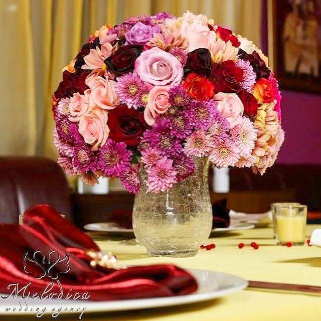 Colorful wedding decoration idea by Melodica Wedding Agency!