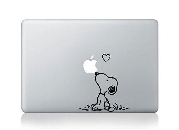 Snoopy Mac Decal Macbook Stickers Macbook Decals Apple by bestack
