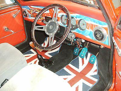 eBay: classic mini racing flame checkmate #classicmini #mini