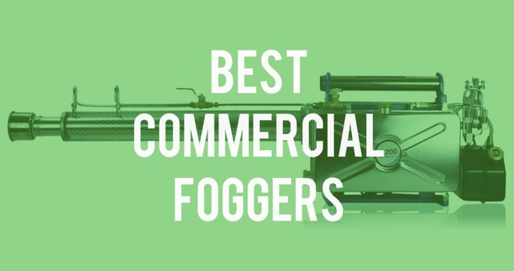 A commercial mosquito fogger is your best bet if you want a fogger that will let you fog a large area outdoors like a park, backyard or a field or indoors like a warehouse, greenhouse or large offi…
