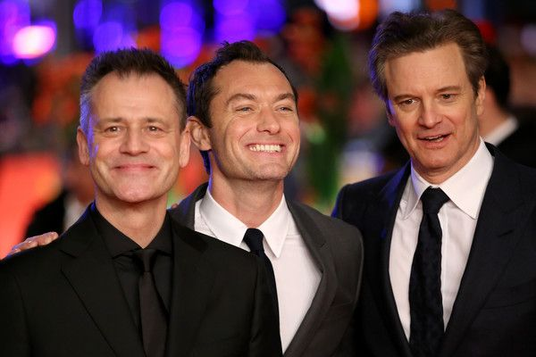 Colin Firth Photos - Director Michael Grandage, actors Jude Law and Colin Firth attend the 'Genius' premiere during the 66th Berlinale International Film Festival Berlin at Berlinale Palace on February 16, 2016 in Berlin, Germany. - 'Genius' Premiere - 66th Berlinale International Film Festival