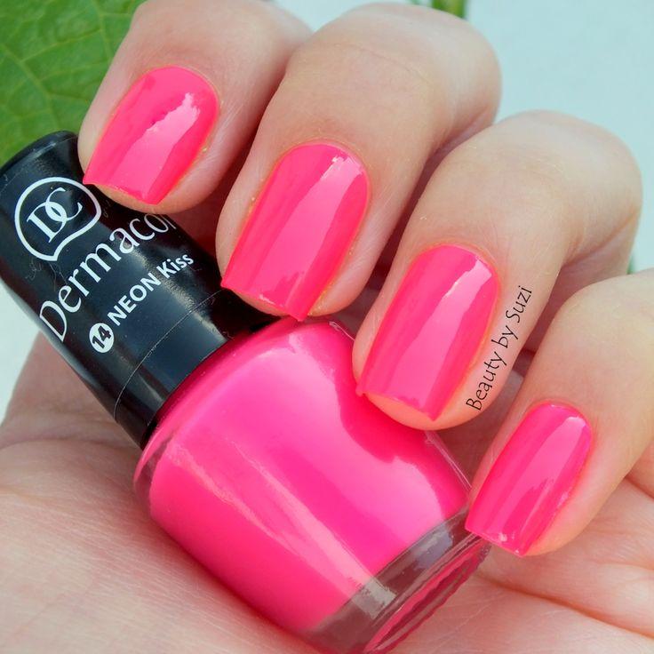 Dermacol Neon Rainbow, 14 Neon Kiss http://www.iperfumy.pl/dermacol/neon-rainbow-neonowy-lakier-do-paznokci/