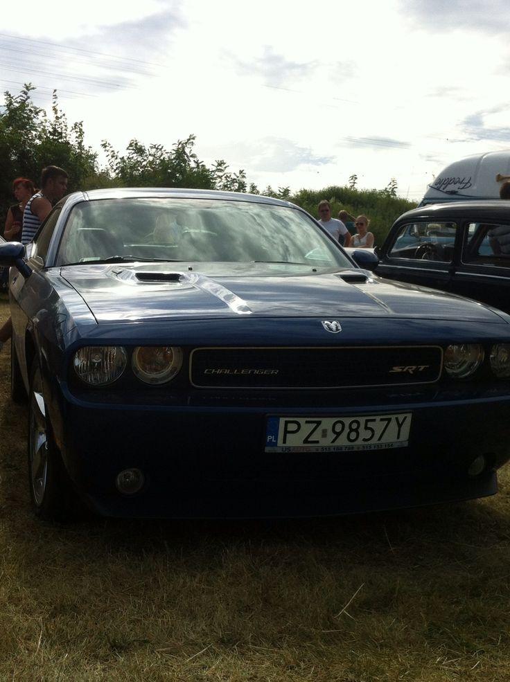 Dodge na Pikniku z Motoryzacją w Wirach 2013