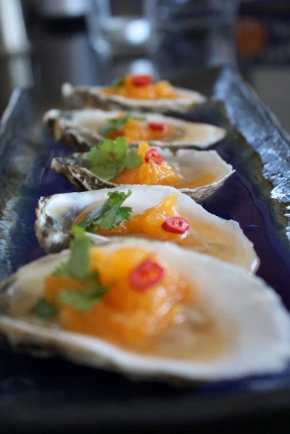 #Oysters with #Citrus #Vodka