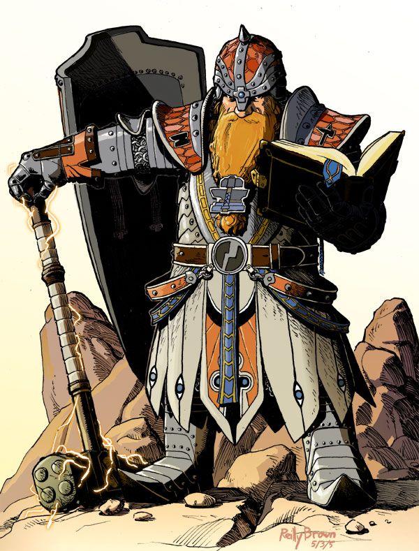 Dwarf by ReillyBrown.deviantart.com on @deviantART