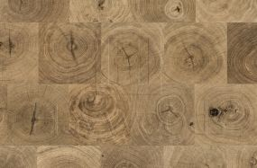 HW2604 Henley Oak End Grain Nature Grade 180mm Engineered Wood Flooring