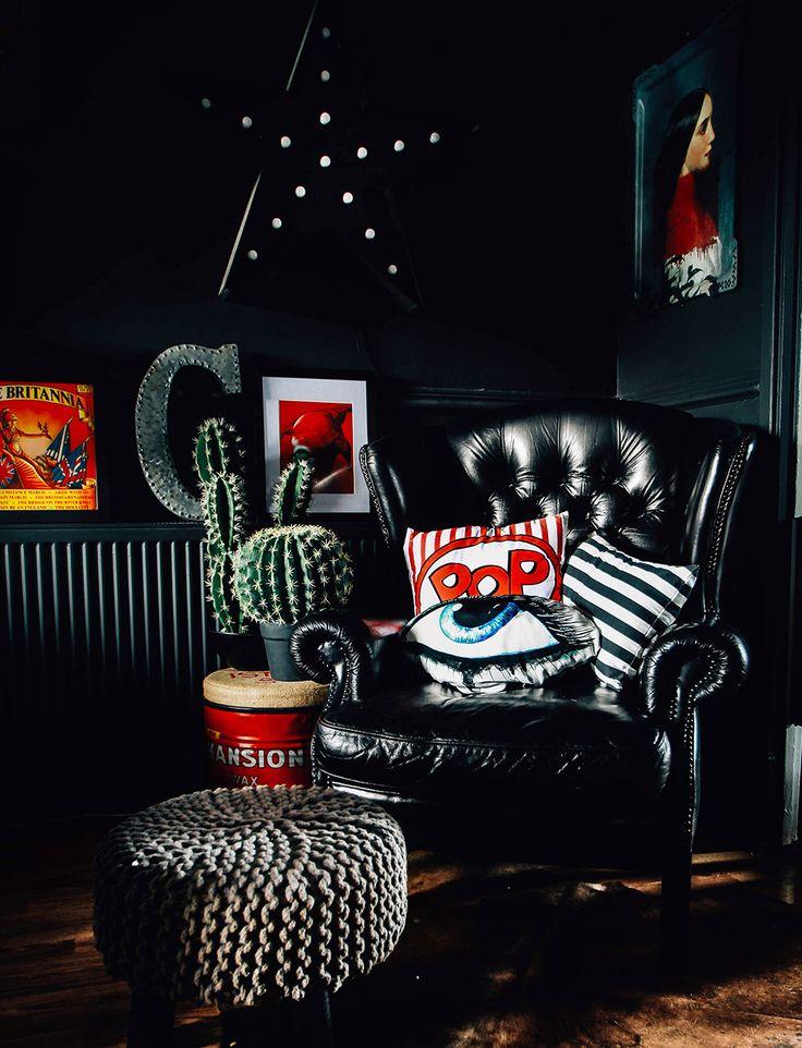 House Tour A Masterclass In Moody Interior Design