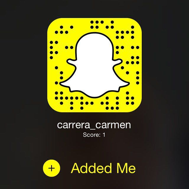 Pin for Later: 11 Reasons Carmen Carrera Should Be Victoria's Secret's First Transgender Model She's Very Social You can follow her on Snapchat at carrera_carmen and on Instagram at @carmen_carrera.