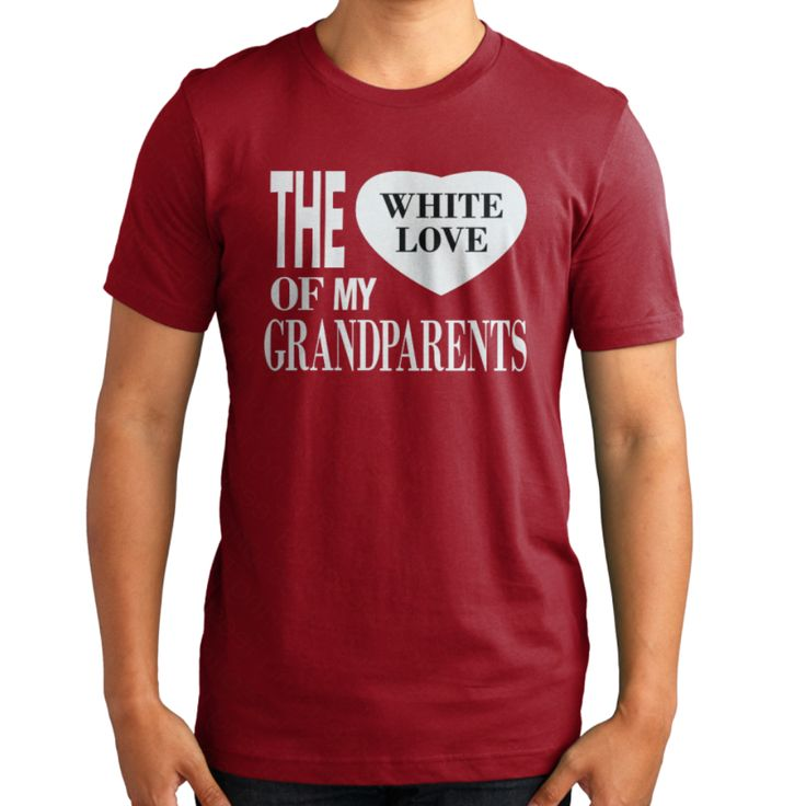 "My T - shirt on Teespring ""The White Love Of My GrandParents"""