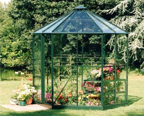 17 best images about greenhouse on pinterest greenhouses for Octagonal greenhouse plans
