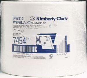 Lavetele profesionale Wypall L40 absorb cu pana la 144% mai multa apa si cu pana la 37% mai mult ulei.