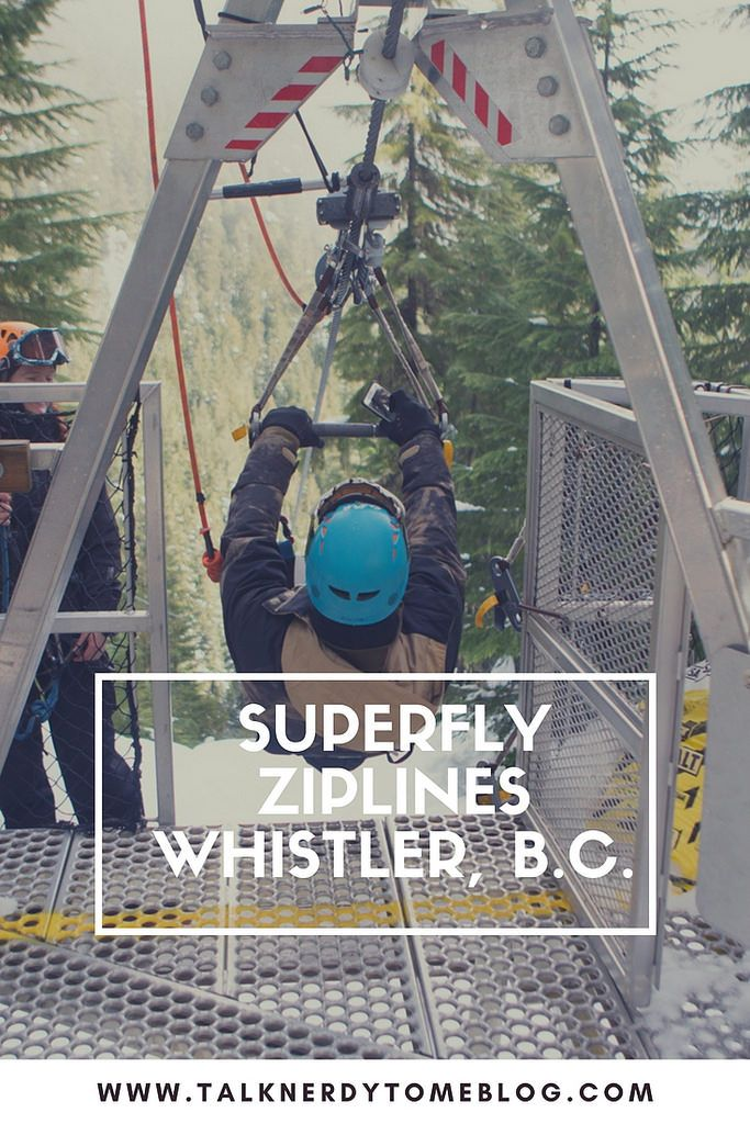 Talk Nerdy To Me: An Adventure with Superfly Ziplines