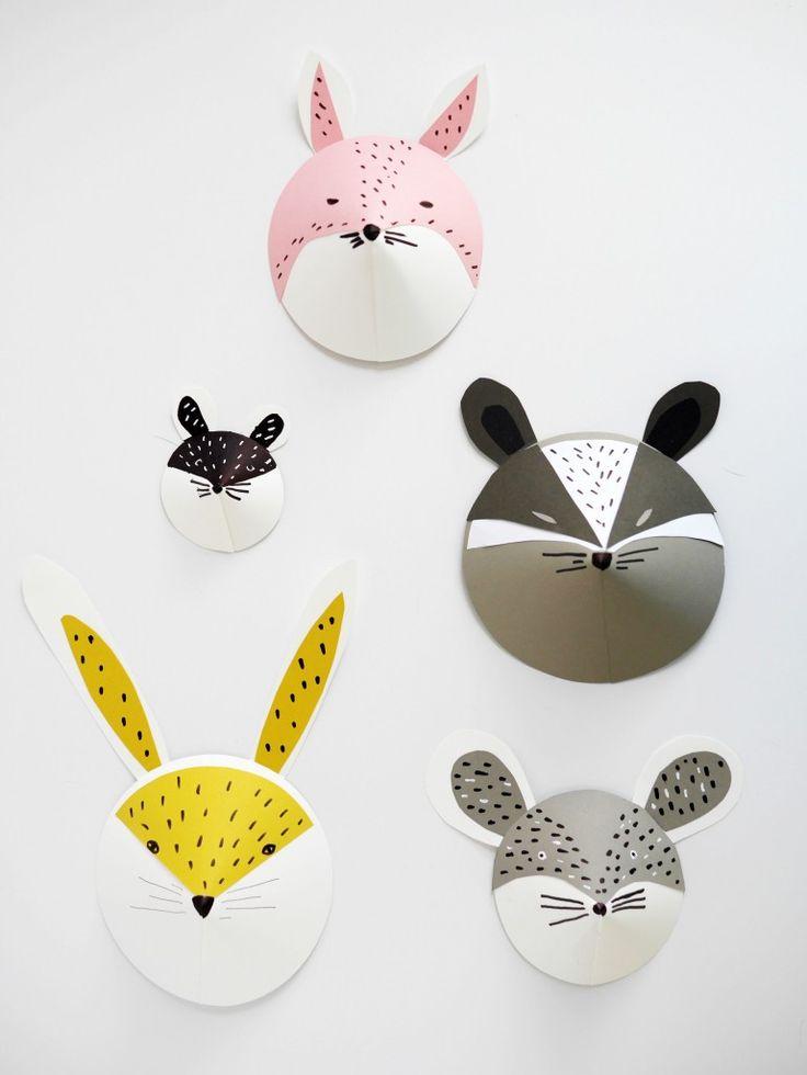 Plus que quelques jours avant Mardi gras, on va encore faire la fête!!! Mais avant cela les kids vont devoir se fabriquer un joli masque...