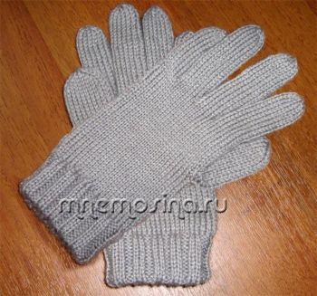 перчатки на 2ф ( от резинки к пальцам)