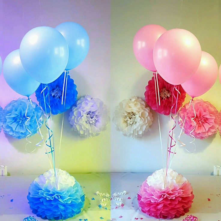 Helium Balloons Baby Shower: 9 Best Balloon Decoration Images On Pinterest