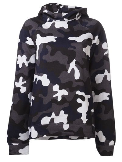 CHRISTOPHER KANE Camouflage Hoodie