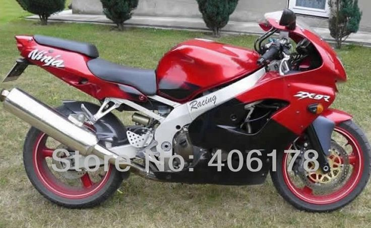 Hot Sales,Cheap ZX9R 98 99 ZX 9R Body work fairing kit For Kawasaki Ninja ZX9R 1998 1999 ZX-9R Red & Black Motorcycle Fairings