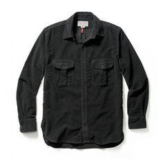 Moleskin Seattle Shirt - Black