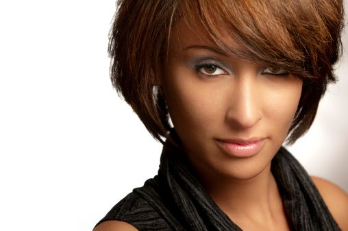 Short Ethnic Hairstyles: 41 Best Images About Ethnic Hair On Pinterest