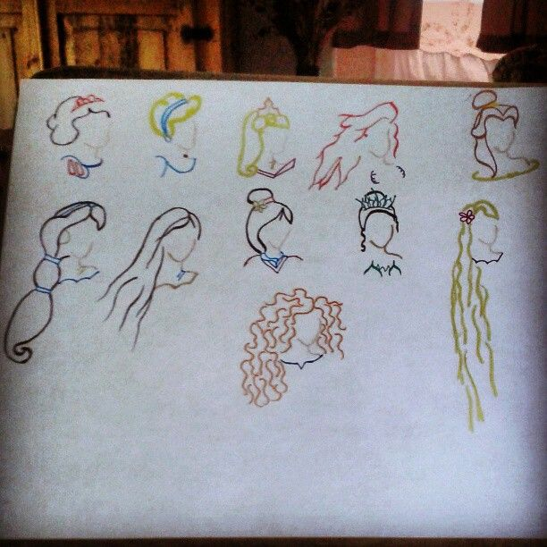Disney princess tattoo disney for Princesas disney tattoo