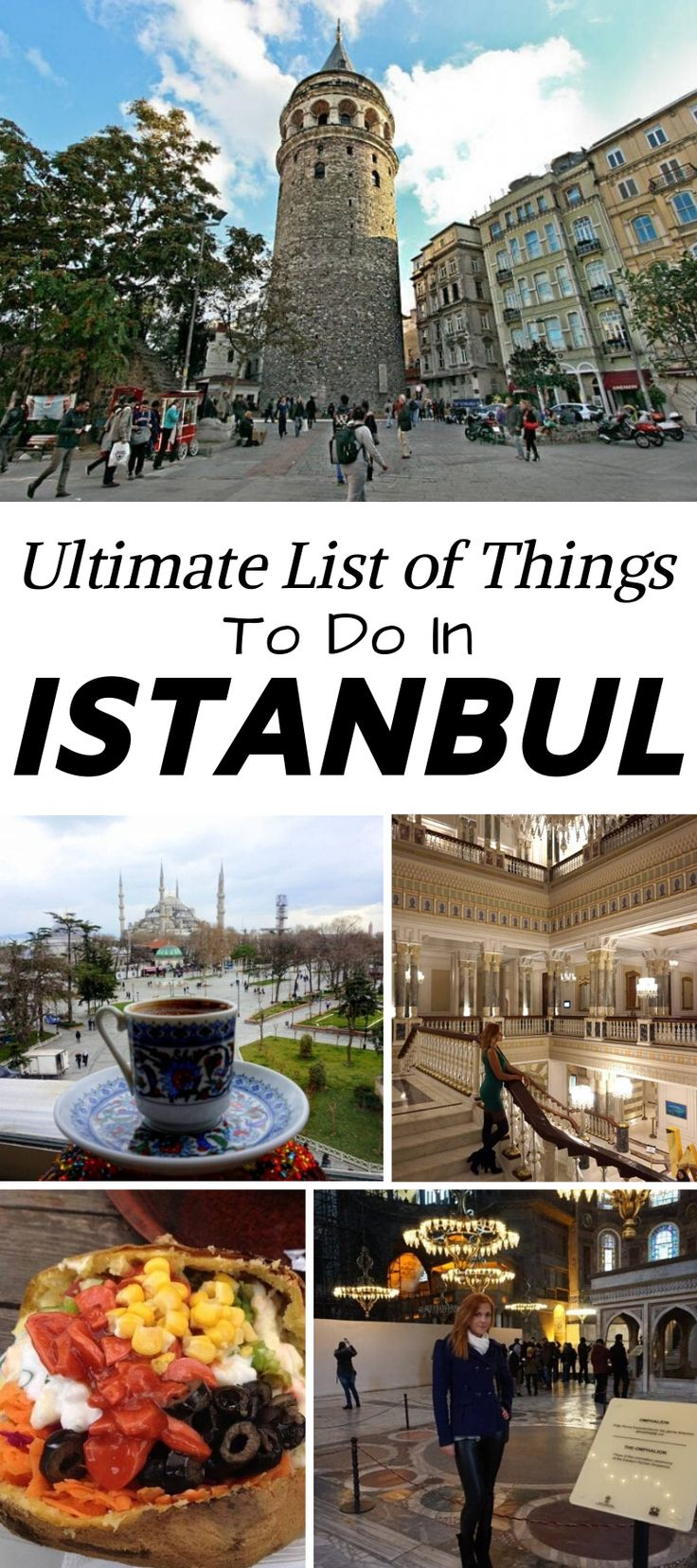 Ultimate List of Things To Do in Istanbul