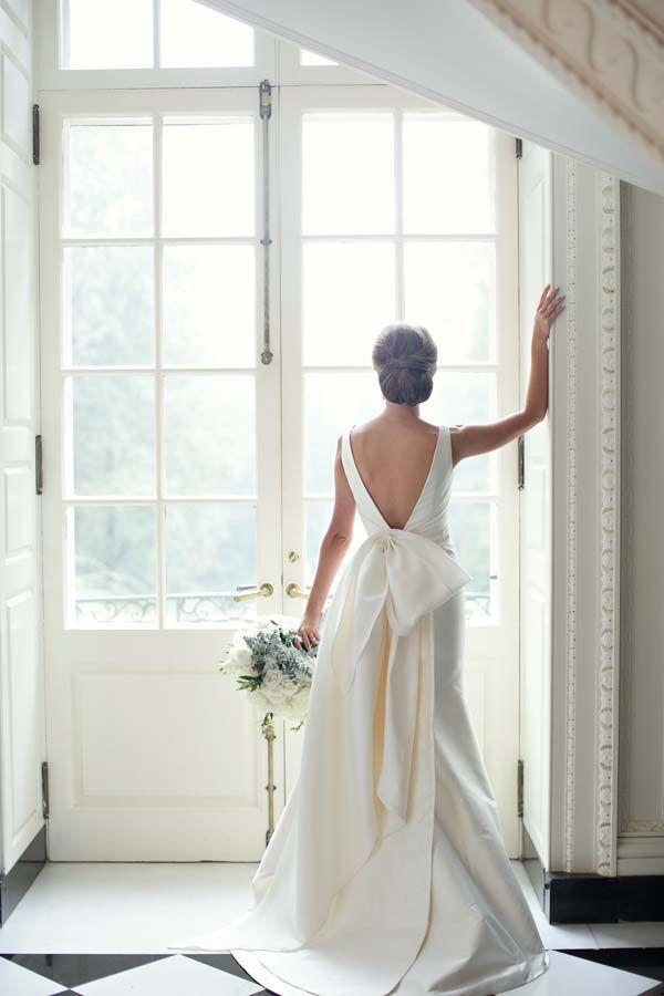 Dramatic silk gown | Paperlily Photography