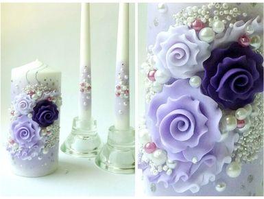 Набор свечей С-103 (фиолетовый)