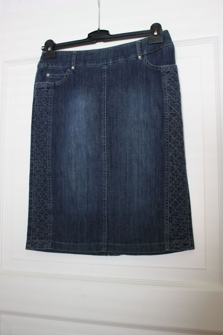 Skirt denim