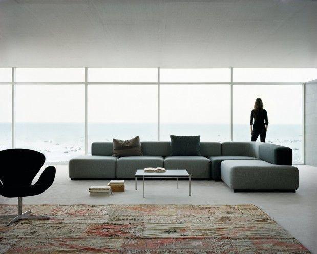 MH PLANTA BAJA Alphabet Sofa Series - PL210-1, 2-seater modular sofa - Fritz Hansen