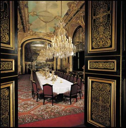 Napoleon iii apartments large dining room louvre mus e for Salle a manger paris