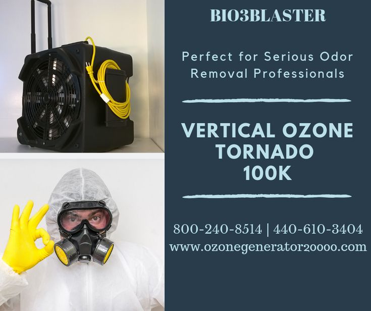 The Bio3blaster Vertical Ozone Tornando 100k Provides Guaranteed Results With Highest Output In Market Suitable For Contrac Odor Remover Ozone How To Remove