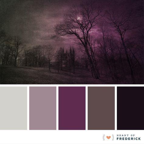 Resultado de imagen de gothic color palette