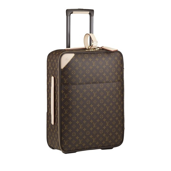 Structured for protection and including a garment cover to hang suits, the Louis Vuitton Pegase is the perfect luggage for in cabin travel.