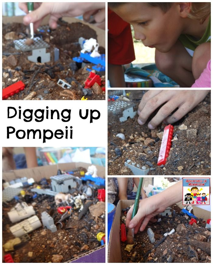 Digging up Pompeii lesson