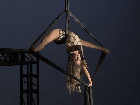 Sheila Verdi - Aerial Silk - Winner Hong Kong Aerial Tournament 2014 - YouTube