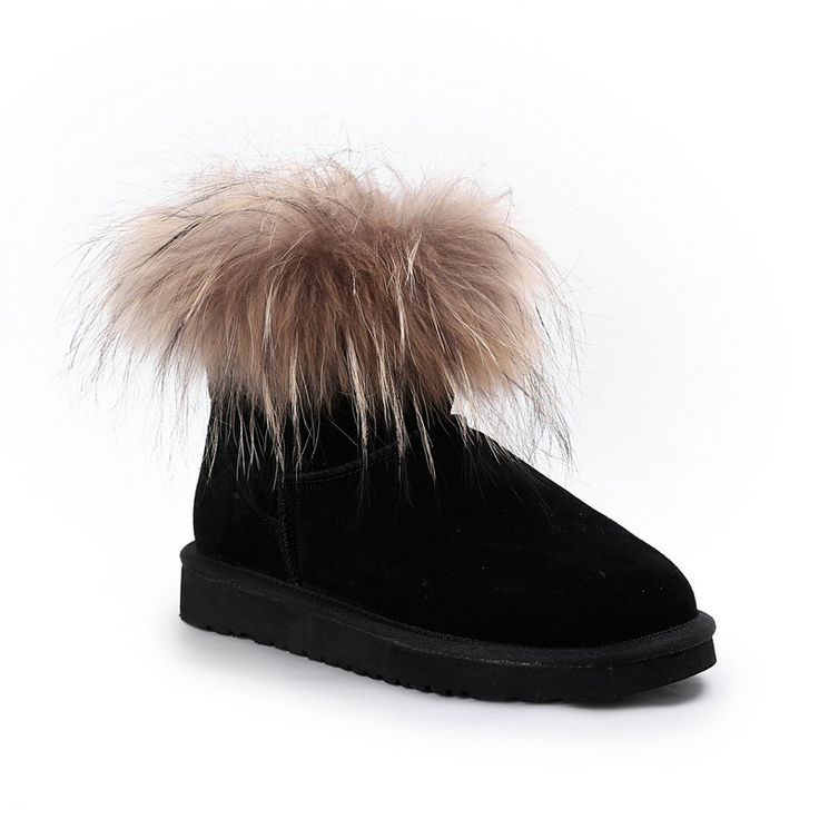 Autumn/Winter 2014 | FULLAHSUGAH FAUX FUR LINED LOW BOOTS | €64.90 | 4451101120 | http://fullahsugah.gr